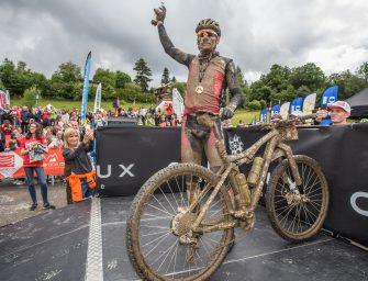 Urs Huber vainqueur de la MB Race Culture Vélo 2017