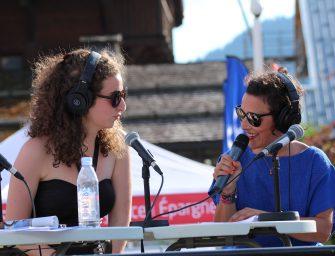 Radio Mont Blanc en live sur le MB Village !